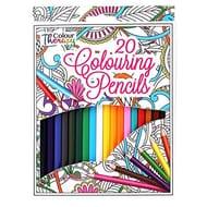 20 Colouring Pencils