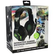 Intempo Interactive Gaming Headset with Microphone