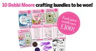 Win 1 of 10 Debbi Moore Crafting Bundle worth £100