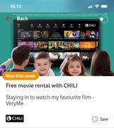 Free Film Rental from Chili