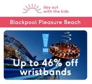 Up to 46% off Blackpool Pleasure Beach Wristbands - dayoutwiththekids.co.uk