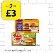Beef & Chicken Burgers Any 2 for Only £3!