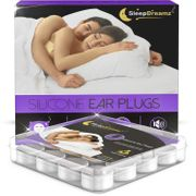 FREE £0.00 SleepDreamz Silicone Ear Plugs for Sleeping X8 Pairs