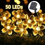 23ft 50 Led Solar String Lights - 40% Off