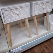 Bargain Bed Side Tables out of Stock Online but Still in Store.