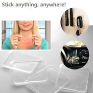 Grip Sticky Anti Slip Pads Kitchen Car Holder Super Easy Gripping Pad