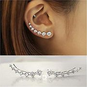 Crystal Ear Cuffs (Free Delivery )