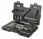 Halfords Advanced 120 Piece Socket Set Ratchet Spanner Tool Box Hand Tools