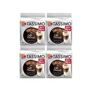 Tassimo Latte Machiatto Baileys Coffee Capsules, Pack of 4 Total 64 Pods