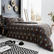 Tribal King Bedding Set + 2 Free Pillow Cases | Happy Linen Company