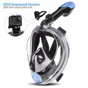 ORSEN Newest Version Full Face Snorkel Mask 40% off Only at £ 16.79