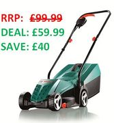 Bosch Rotak 32R Rotary Lawnmower - AN AMAZON DEAL OF THE DAY