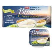 Muller Bliss Corner Greek Style Cheesecake Lime