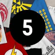 Mystery Geek T-Shirt - 5-Pack