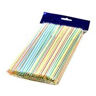 100Pcs Disposable Flexible Straws