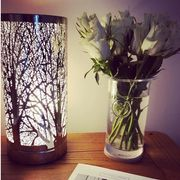 Chrome Sparkly Touch Table Lamp Reduced