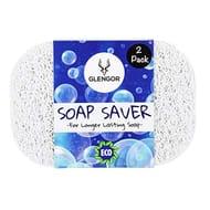 Glengor Soap Saver/Soap Lift-Pack of 2 | Eco-Friendly for Longer Lasting Soap.