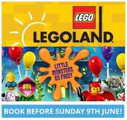 Stay at LEGOLAND Windsor Resort and Your Little Monsters Go FREE!