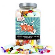 Personalised Sweet Jar - Super Dad