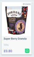 Jordan's Super Berry Granola 550gr
