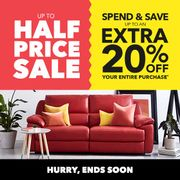 Up to 50% off Sale plus up to an Extra 20% Off