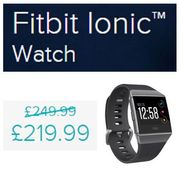 £30 off - Fitbit Ionic Watch