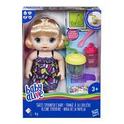 Baby Alive Sweet Spoonfuls Blonde Baby Doll Girl Only £15