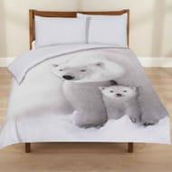3D Polar Bear Duvet Set- King Size