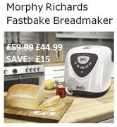 Amazon Deal of the Day: Morphy Richards Fastbake Breadmaker