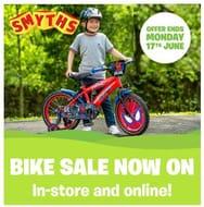 KIDS BIKE SALE at Smyths Toys