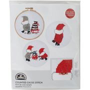 Tomte Kettle and Sleigh Cross Stitch Kit