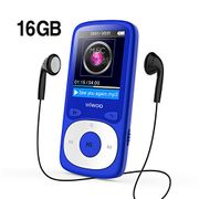 Wiwoo MP3 Player, 16GB Digital Audio Music Player with Radio/Voice