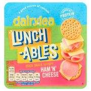 Dairylea Lunchables Ham and Cheese Crackers *2 for £2