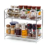 EZOWare 2-Tier Kitchen Countertop Organizer Holder Rack for Spice Jar