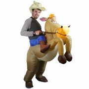 Cowboy Inflatable Costume at Amazon Only £9.99 Delivered