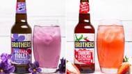 Brothers Parma Violet, Strawberries & Cream or Rhubarb & Custard Cider at B&M