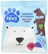 Bear Fruit Paws Arctic Rasperberry & Blueberry 18 X 20g