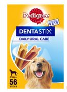 Pedigree Dentastix Daily Adult Large Dog Treat Dental Chews 56 Sticks