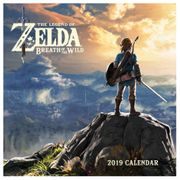 The Legend of Zelda: Breath of the Wild 2019 Calendar