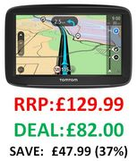 CHEAP PRICE! TomTom Car Sat Nav Start 52, 5 Inch with Lifetime EU Maps