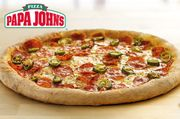 Itison Papa John's Pizza £2.99-Choice of 19 Locations Edinburgh and Glasgow