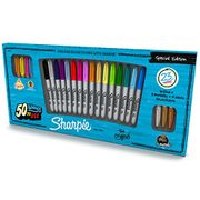 Sharpie Permanent Marker Special Edition Pack, Fine Point - Pack of 23, Assorted