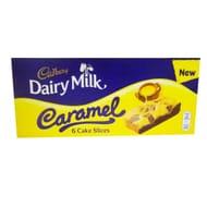 Cadbury Dairy Milk Caramel Slices 6 Pack