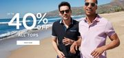 Up to 40% off All Tops