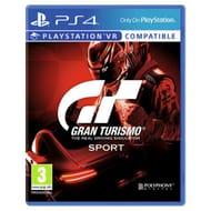 PS4 Gran Turismo Sport £13.99 C&C at Argos
