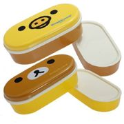 2 Tier Bento Lunch Box Case + Chopsticks Belt - Free Delivery