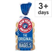 New York Bagels 5 Pack £1, from 11th June
