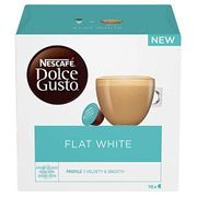NEW! NESCAFE DOLCE GUSTO Flat White 48 Coffee Pods PRIME EXCLUSIVE DEAL