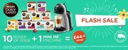 Nescafe Mini Me Dolce Gusto Machine and 10 Packs of Pods £44.90 Delivered