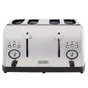 Blaupunkt Retro 4 Slice Toaster - Grey